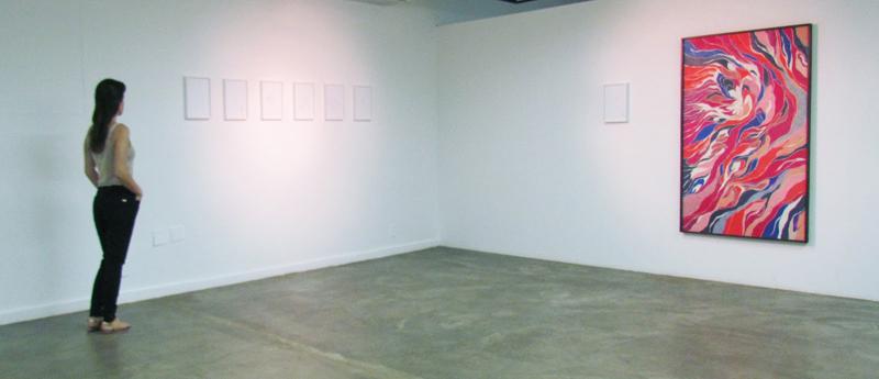 Vista Geral da exposição Um Corpo que Cai, 2012, Museu de Arte de Goiânia, Goiânia, Brasil (Exhibition View Um Corpo que Cai, 2012. Museu de Arte de Goiânia, Goiânia, Brazil)