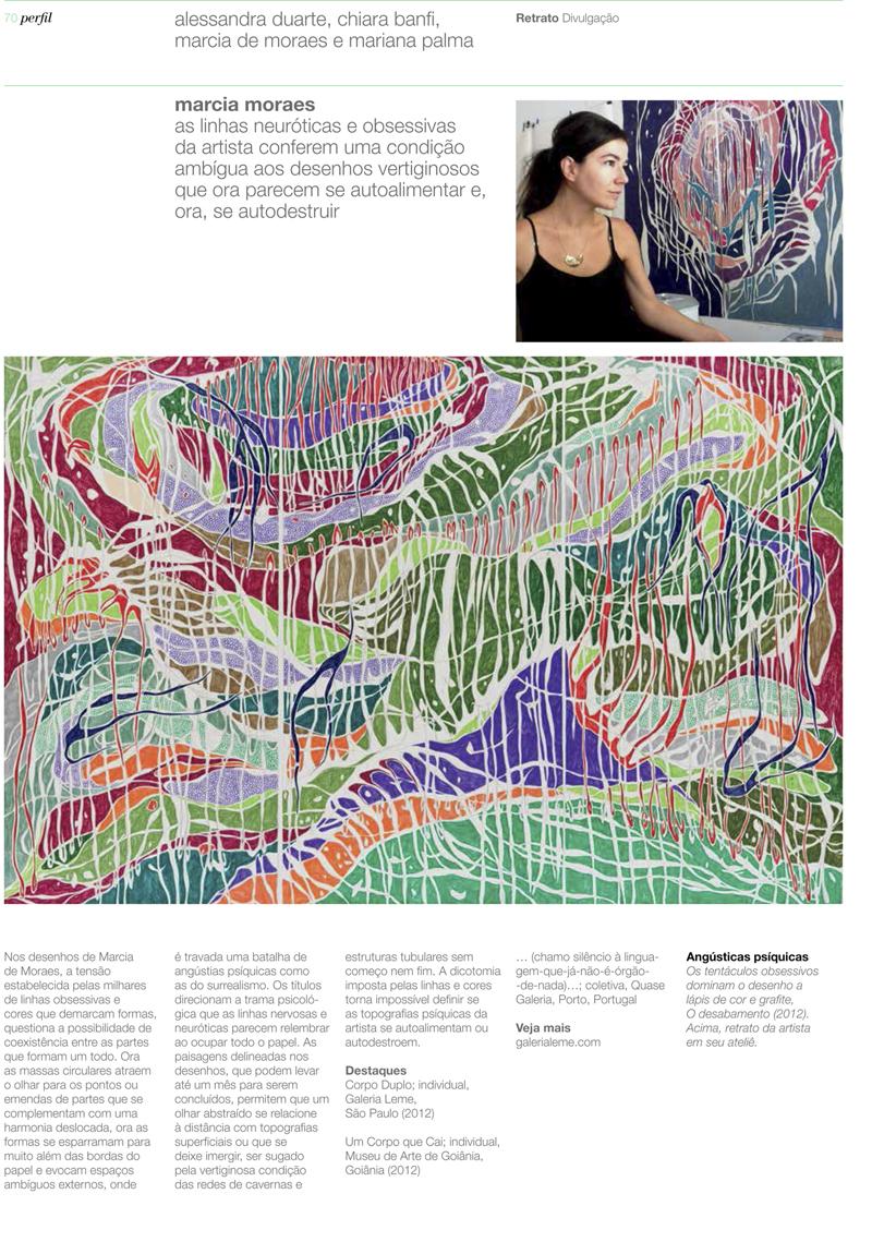 BELCHIOR, Camila. Território Incomum, Revista Bamboo, abril, 2013