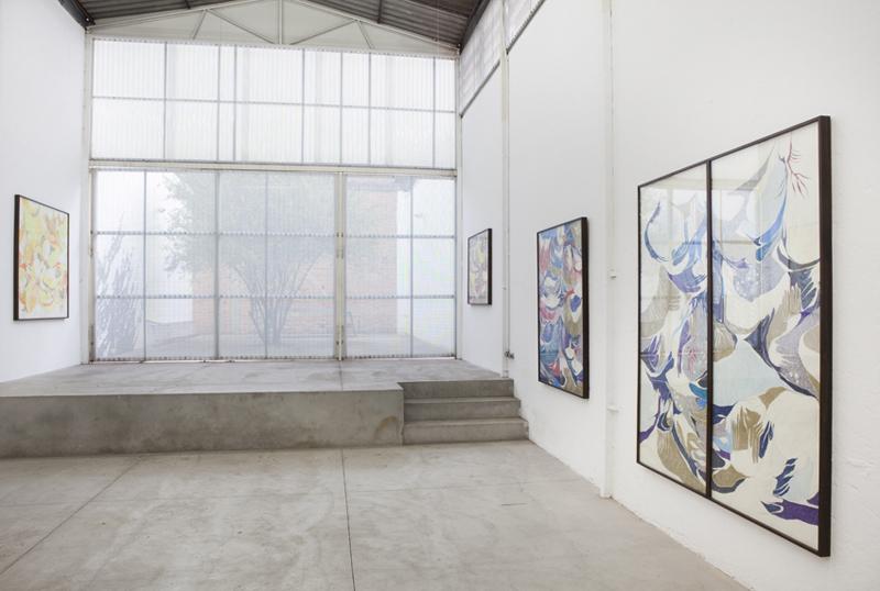 Vista Geral da exposição Personne, Galeria Leme | Studio, 2010, São Paulo, Brasil. Foto: Ding Musa.